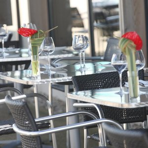 Caprice Restaurant Outdoor Terrace